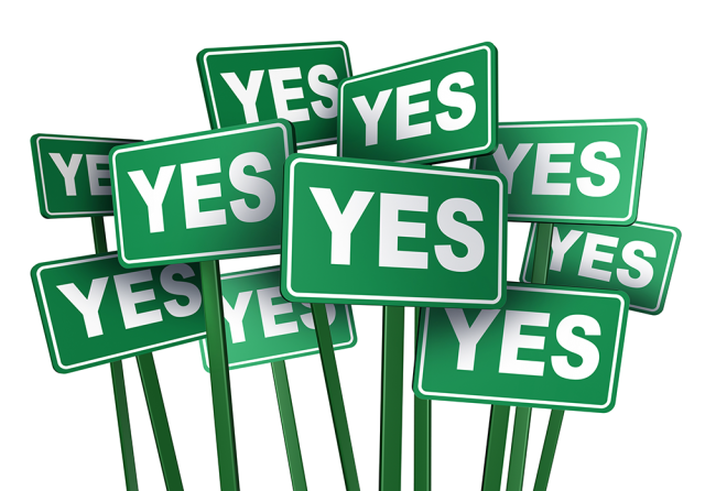 Yes Signs